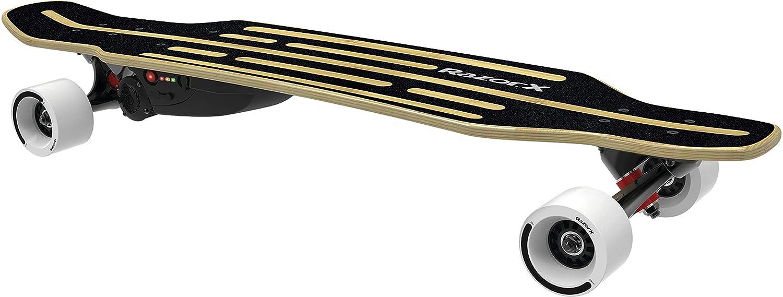 Splinternye Amazon.com : RazorX Longboard Electric Skateboard : Sports & Outdoors VA-53