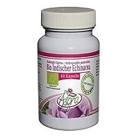Asgra Bio Kalmegh (indischer Echinacea) - ohne Zusätze - 300mg je Veggie Kapsel (60 Kapseln)