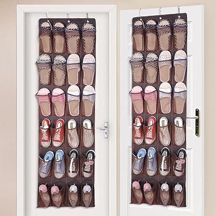 Amazon 75 Off 24 Pockets Over The Door Hanging Shoe