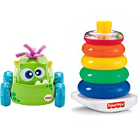 Fisher Price Monster Truck - Boy  + Fisher-Price Brilliant Basics Rock-a-Stack