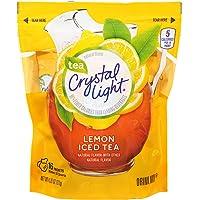 Crystal Light Natural Lemon Iced Tea Drink Mix (16 Pitcher Packets)