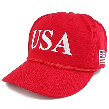 cc84c28895243 Amazon.com  Donald Trump USA 45th President Embroidered Cap with ...