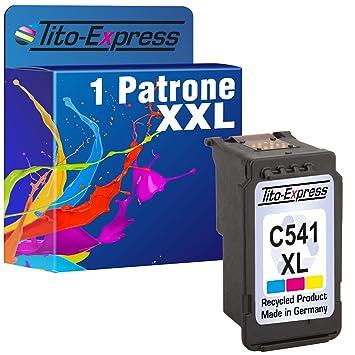 platinumserie – Cartuchos de Tinta para Canon CL-541 XL Color MG4120 MG4140 MG4150 MX375 MX395 MX435 MX455
