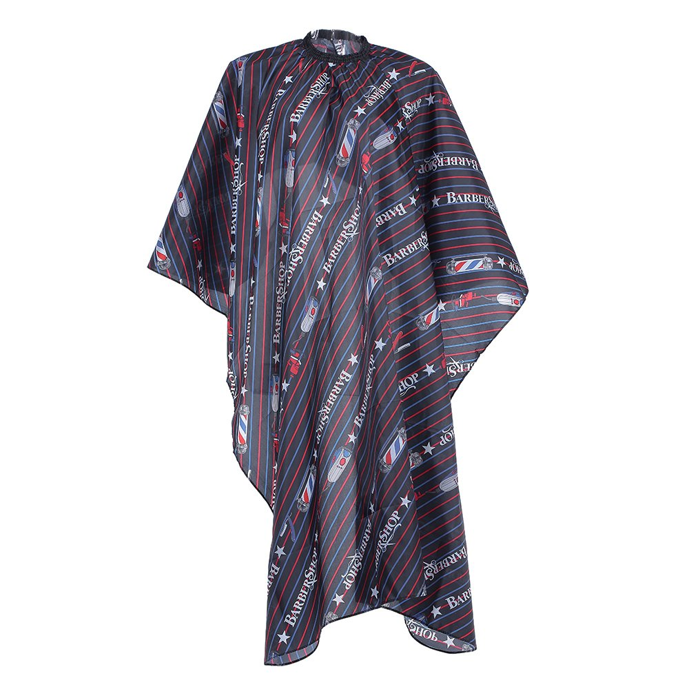 Anself Salon Cape Hairdressing Gown Waterproof Cloth Haircutting Hair Dyeing Gown Anti-static W5931-1-1L90S9