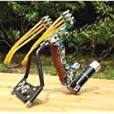 Adjustable Stainless Hunting Laser Slingshot High Velocity Catapult Slingshots Most Powerful Profesional Outdoor…