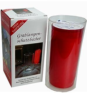 """Grablampen-Schutzbecher /""""Myco/"""" aus Jenaer Glas"""