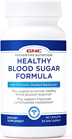 GNC Preventive Nutrition Healthy Blood Sugar Formula with Reducose