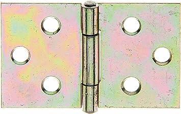 Scharnier Stahl weiß verzinkt Türband Türscharnier Beschlag Möbelband Scharniere