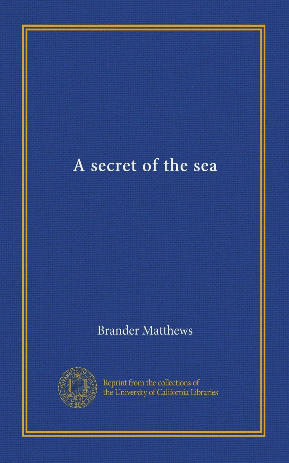 A secret of the sea pdf