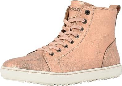 Bartlett Metallic Rose Leather Sneaker