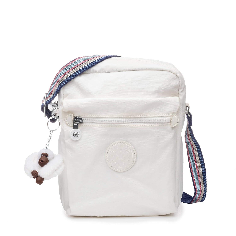Alabaster Kipling Livie Bag, Adjustable Crossbody Strap, Zip Closure
