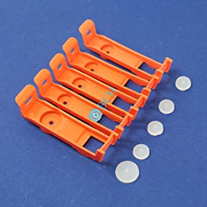 5 Cartridge Storage Clip with Pad for 564 920 902 934 935 XL - Poor Man's DIY 564 920 Cartridge Refill Kit -