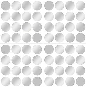 Wall Pops WPD1593 Silver Confetti Dot Decals