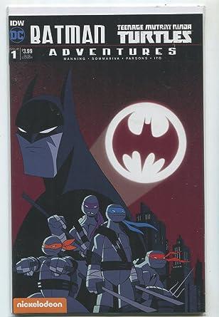Amazon.com: Batman-Teenage Mutant Ninja Turtles #1 NM Sub ...