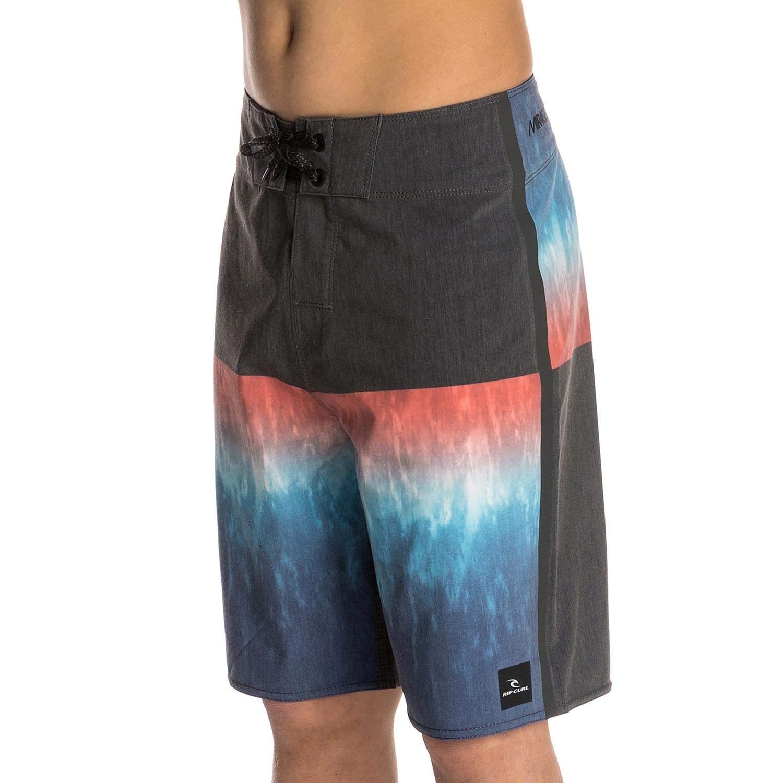 Rip Curl Boys Mirage Blocade 18 Boardshorts Black /& Blue