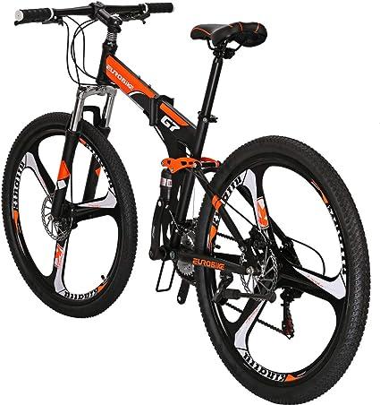 SL Eurobike G7 MTB 21 Speed 27.5 Inches Spoke Wheels Folding Bike