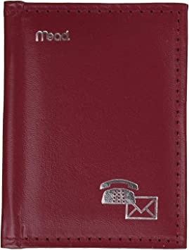 Mead 67142 Index Telephone/Address Book, 4x3-Inch, Assorted Colors: Amazon. ca: Office Products
