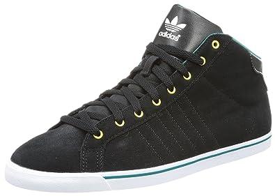 adidas Originals Court Star Slim Mid, Montantes femme - Noir - Schwarz (Black/