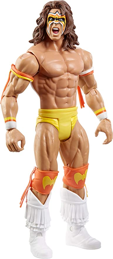 WWF WWE Elite Ultimate Warrior Wrestling Action Figure Kid Child Toy NEW NO BOX