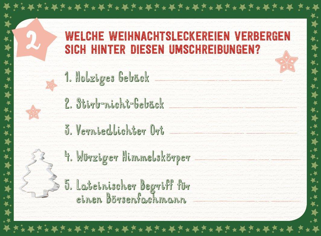 24 Zauberhafte Weihnachtsratsel Adventskalender Fur Erwachsene Aufstell Buch Mit Ratseln Amazon De Lamping Laura Kolsch Christina Bucher