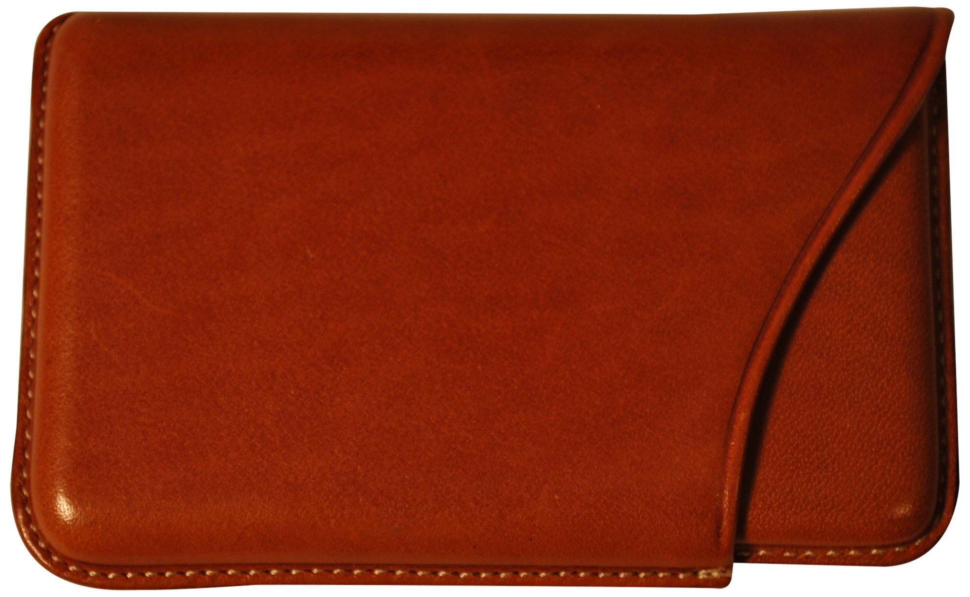 Budd Leather Company Slide Out Business Card Case, Tan (603100-3) by Budd Leather (Image #2)
