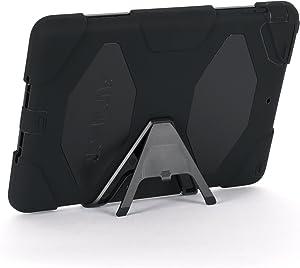 Apple IPad Air Griffin Survivor Case, Black, Black, and Black, Retail Packaged (GB36307)