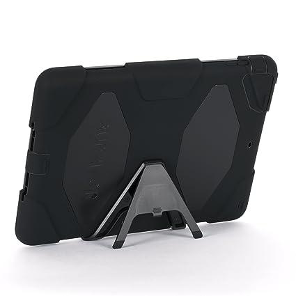 6e3f032d7ac Apple IPad Air Griffin Survivor Case, Black, Black, and Black, Retail  Packaged (GB36307)