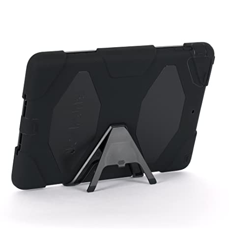 eb63a53805 Amazon.com: Apple IPad Air Griffin Survivor Case, Black, Black, and Black,  Retail Packaged (GB36307): Computers & Accessories