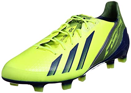 adidas Adizero F50 FG Syn - Zapatillas de fútbol con Tacos para niños, Color Azul