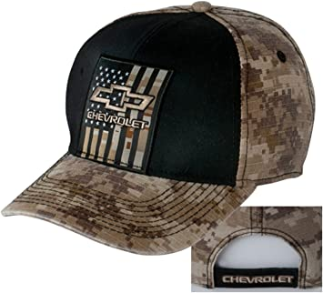 Gregs Automotive Chevrolet Chevy Bowtie Hat Cap Blue Bundle Includes 1 Hat and 1 Driving Style Decal
