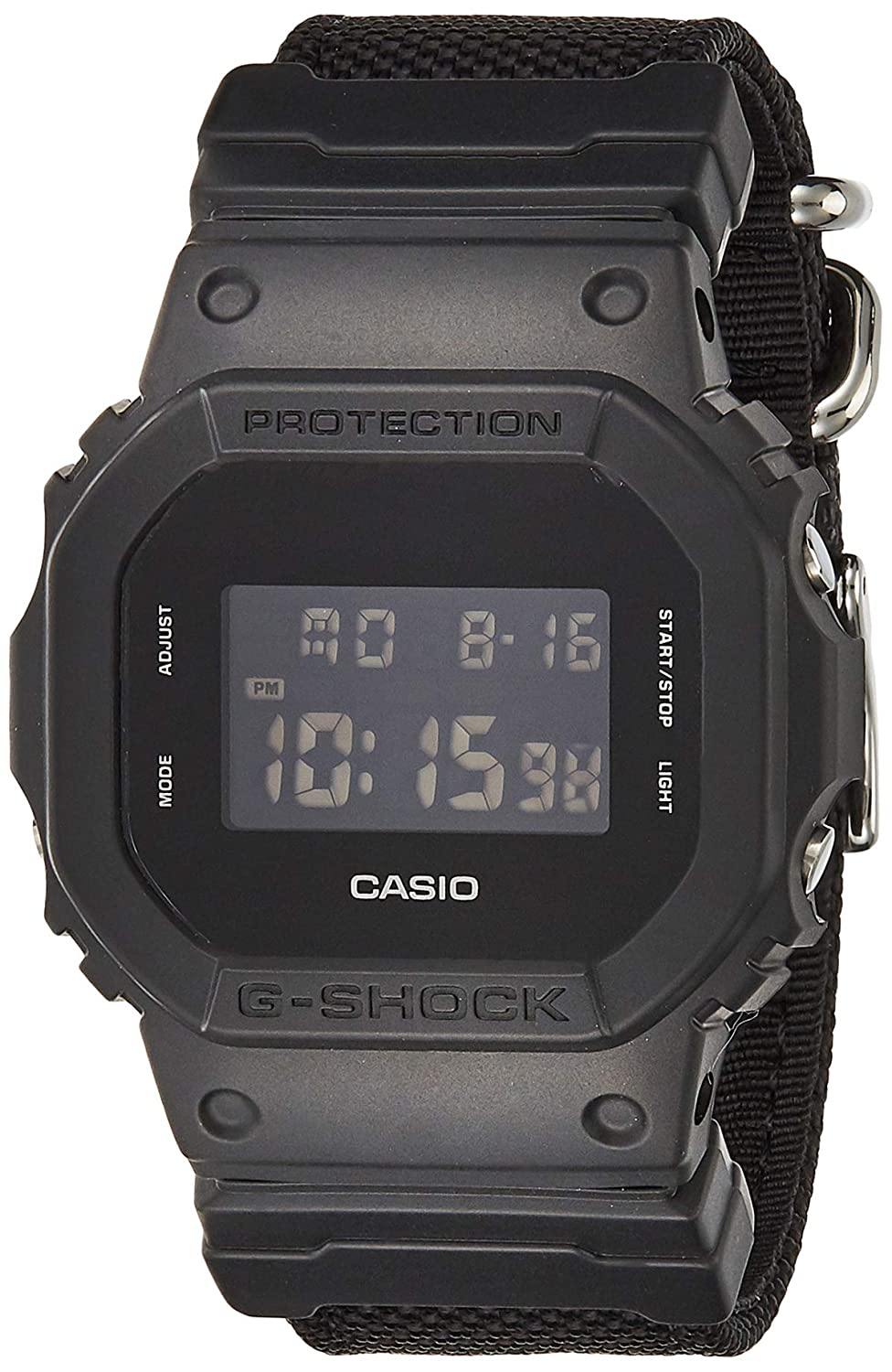 Casio DW-5600BBN-1 G-Shock Black Out Basic Digital Men s Watch Nylon Band
