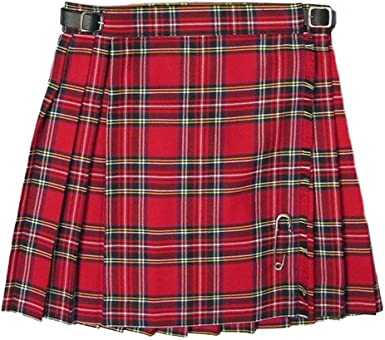 Glen Appin Kilt/falda escocesa plisada para niñas - Royal Stewart ...
