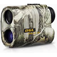 OGL Hunting Rangefinder 6X Pro Laser Range Finder Accurate Speed and Range Mode with Scan 540 Yards Monocular with LCD Display Wild Hunter 500