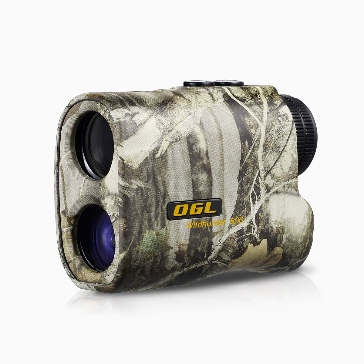 OGL Hunting Rangefinder 6X Pro Laser Range Finder Accurate Speed and Range Mode with Scan 540 Yards Monocular with LCD Display Wild Hunter 500 by OGL