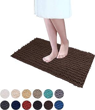 "15X23/"" Kitchen Bath Doormat Non-Slip Mat Rug Bathmats Carpet Bicycle on Cream"