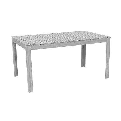 Hervorragend greemotion 128669 Gartentisch MAUI aus Holz-Esstisch Garten QD28