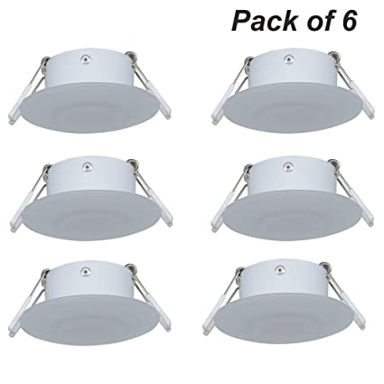 amazon com facon 3inch led rv puck light full aluminum recessed