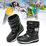 HOBIBEAR Kids Winter Snow Boots Waterproof Outdoor