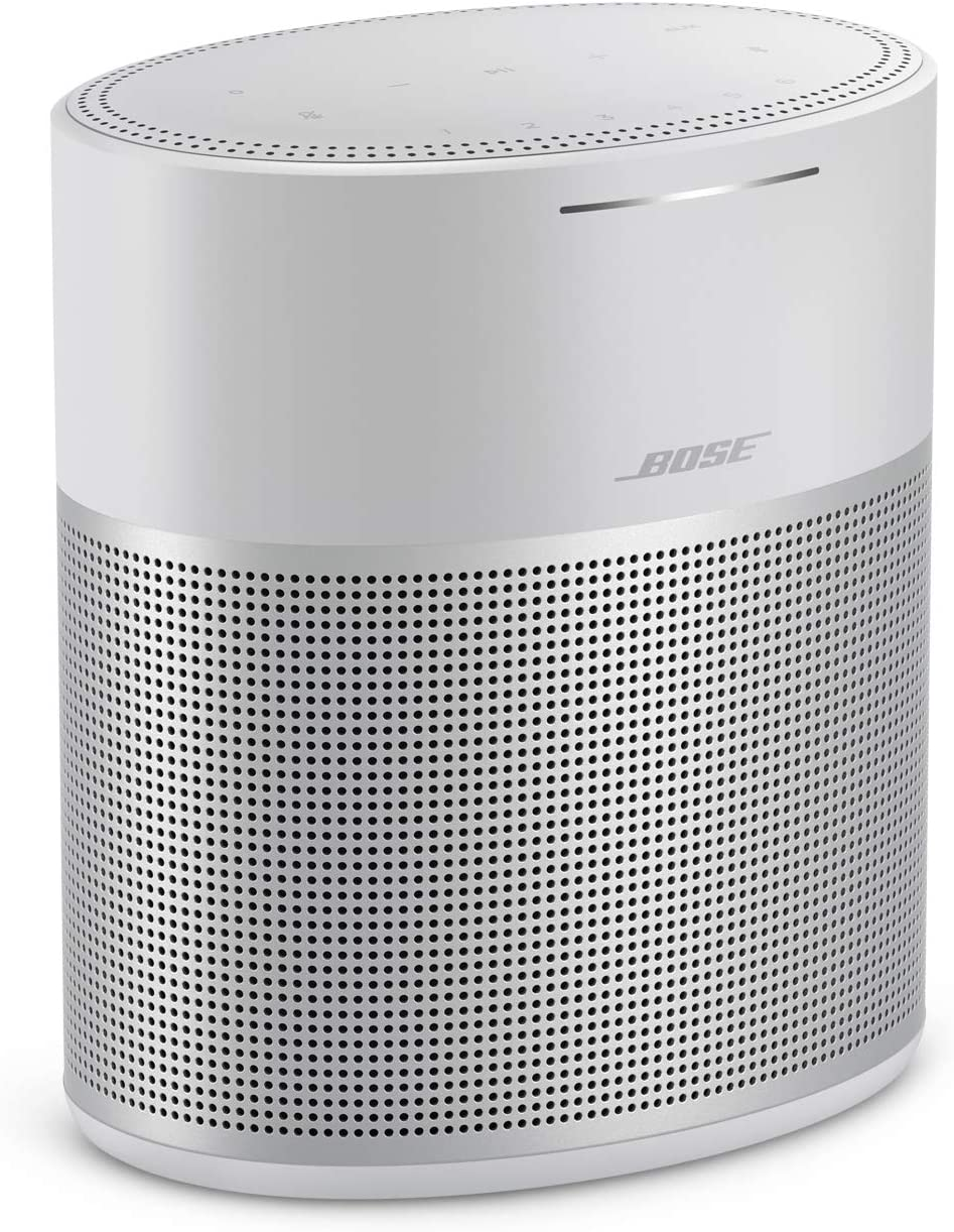 Bose Home Speaker 300, with Amazon Alexa built-in, Silver