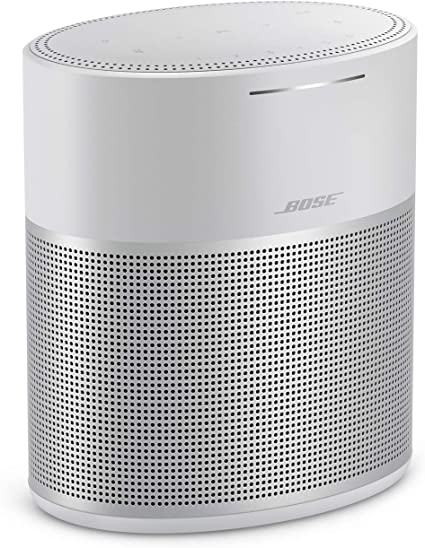 Bose Home Speaker 10, with Amazon Alexa built-in, Silver