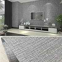 PVC waterdicht zelfklevend behang textielachtig patroon kleeffolie waterdicht behang 10 x 0,6 m decoratief peel stick…