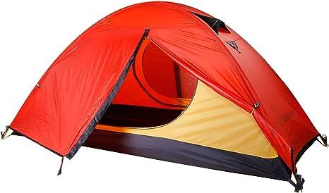 Wolfwise Tienda De Campaña Impermeable Plegable,Para Camping Senderismo Al Aire Libre,Para 1 Persona,Ligera