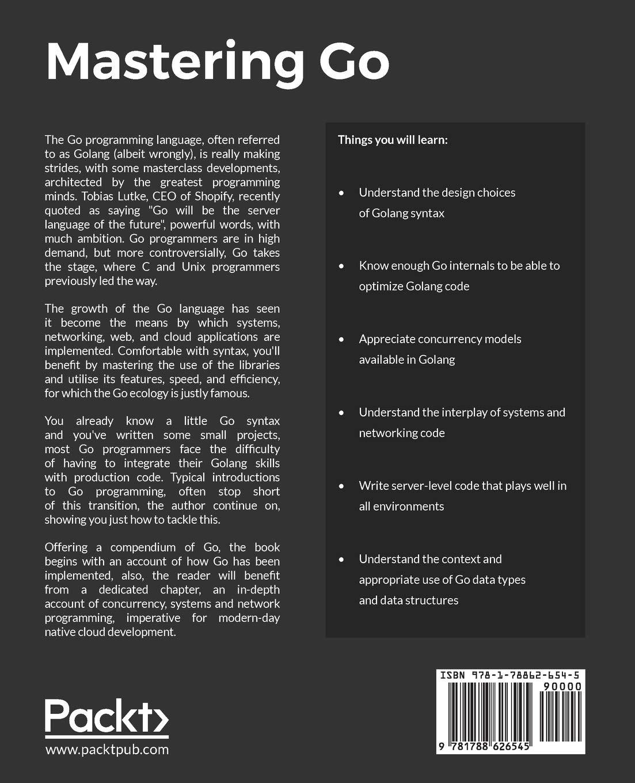 Amazon com: Mastering Go: Create Golang production