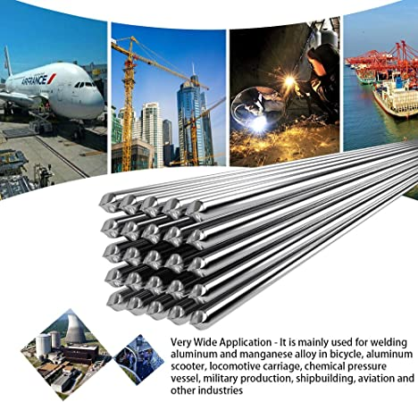 Solution Welding Flux-Cored Rods 20//50pcs Free shipping 2* 500mm Wire Brazing