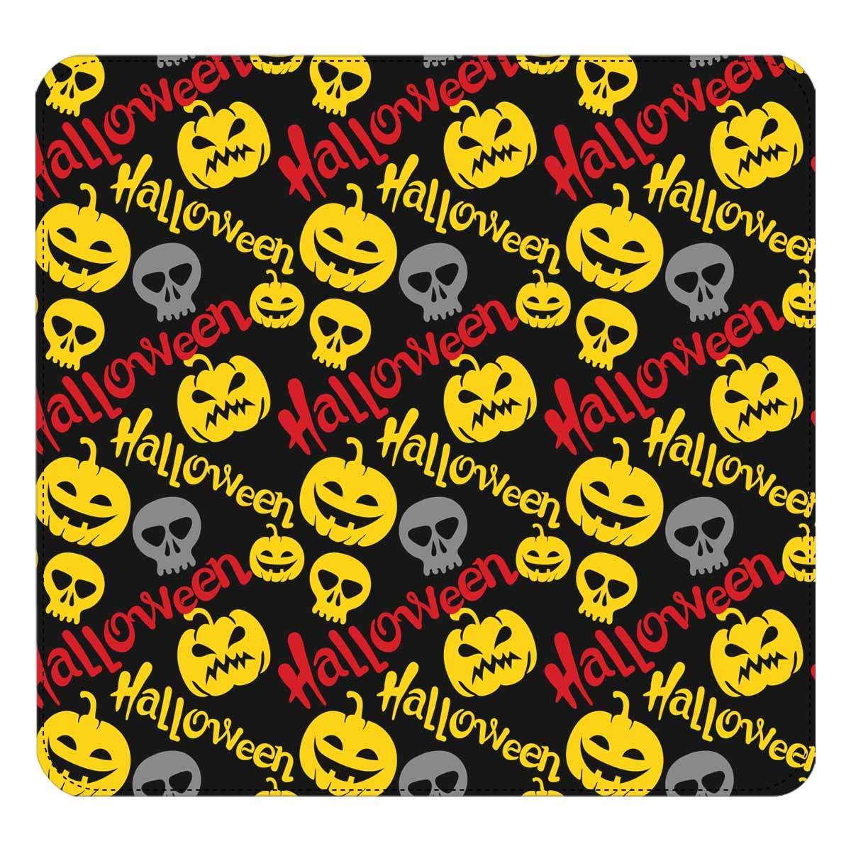 InterestPrint Womens Halloween Scary Pumpkins Clutch Purse Card Holder Organizer Ladies Purse