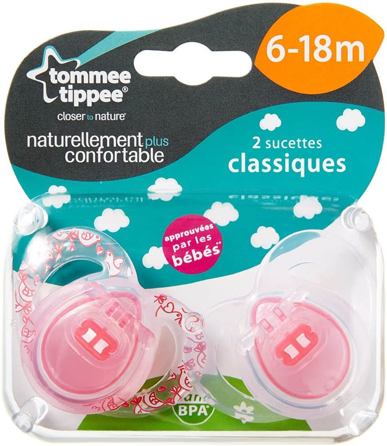 Pack of 2 Tommee Tippee Soother 0-6 Months