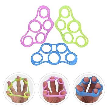 Diseño de dedo mano extensor de ejercicios para aliviar dolor en las articulaciones, Grips, guitarra dedo ...