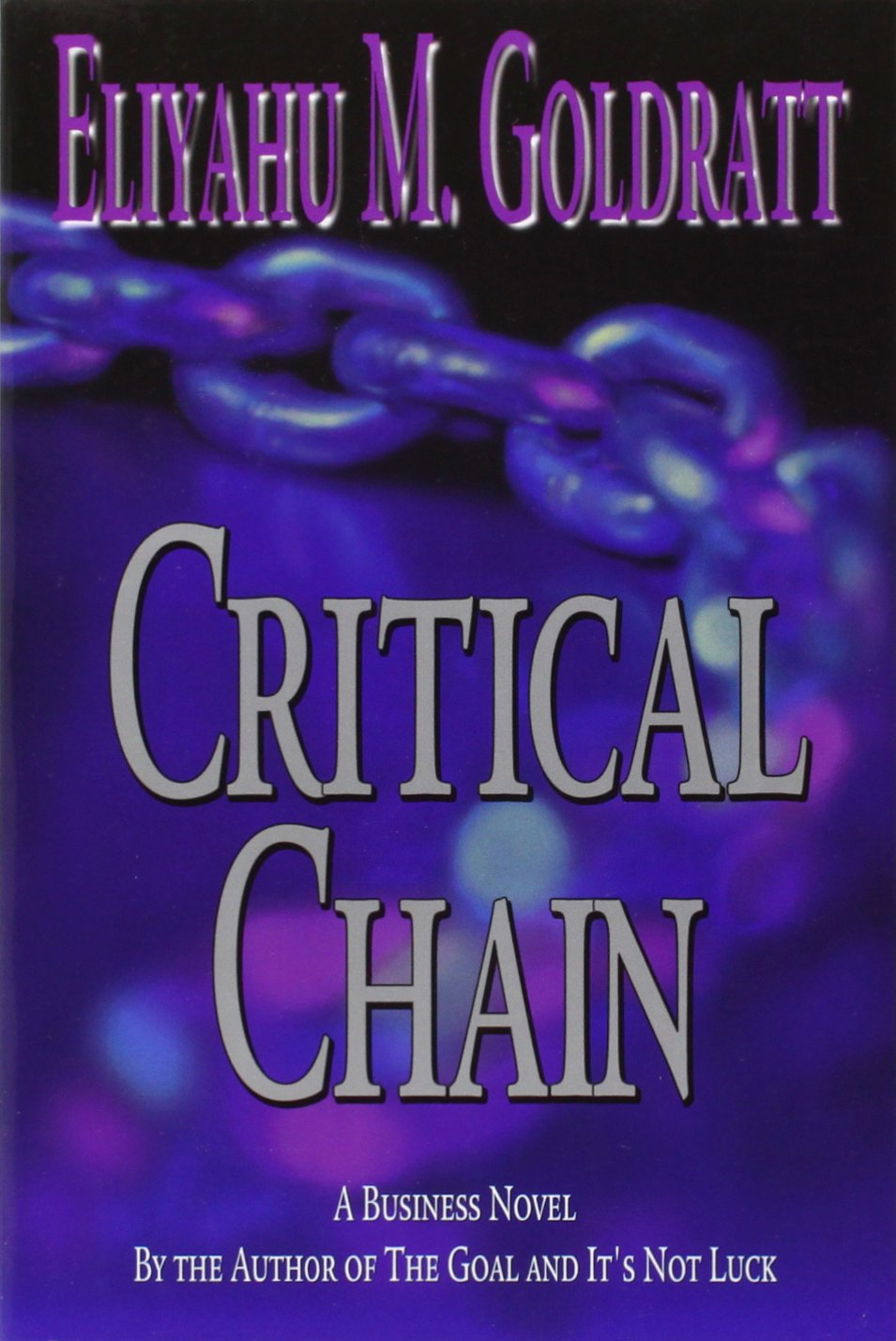 Critical Chain Eliyahu M Goldratt product image