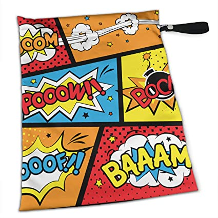 Hlinksy Comic Graffiti Boom - Bolsas de pañales para bebé ...