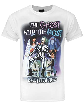 Official Beetlejuice Ghost With The Most Mens T-Shirt ...
